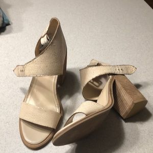 Kelsi Dagger shoes Mayfair Shell Distressed